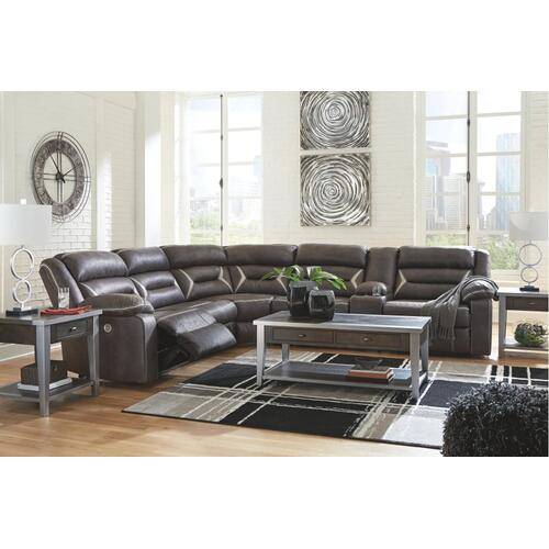 Ashley - 4-piece Sectional With Recliner