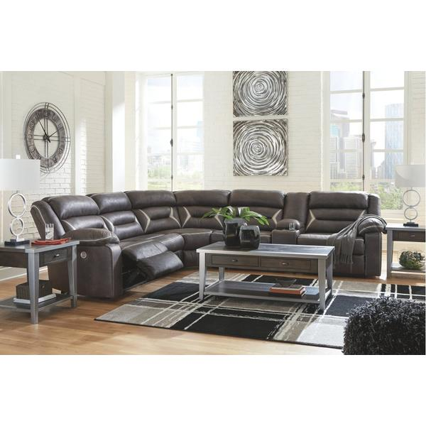 4-piece Sectional With Recliner