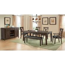 Copper Ridge 6 PC Dining Set              (DCR-100-DT,ELE-COOP)