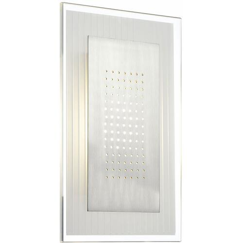 LED Wall Sconce, Glass Shade, Type LED 6.3W