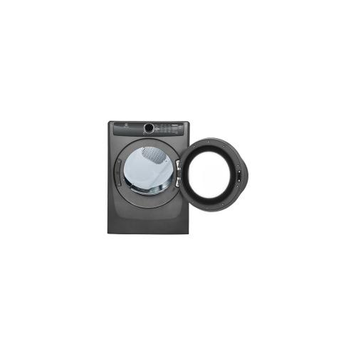 Product Image - Front Load Perfect Steam Electric Dryer with Instant Refresh and 8 cycles - 8.0 Cu. Ft.