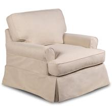 See Details - Horizon Slipcovered T-Cushion Chair - Color 391084