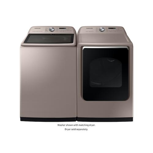( Open Box ) 5.4 cu. ft. Top Load Washer with Super Speed in Champagne