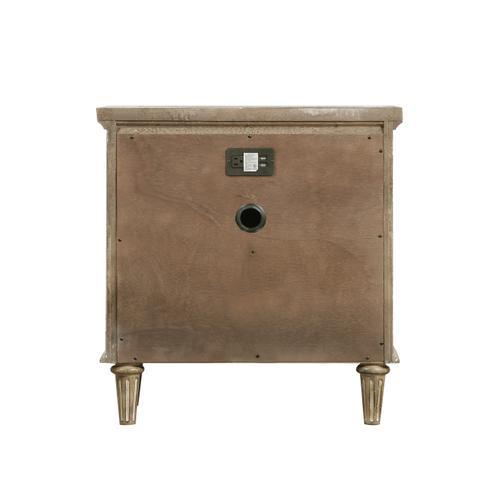 Emerald Home Furnishings - 2-drawer Nightstand