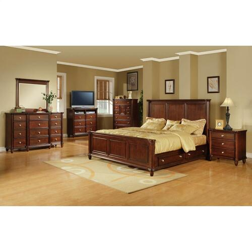 Hamilton King Storage Bed