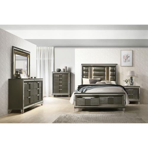 Twenty Nine 2-Drawer Queen Storage Bed