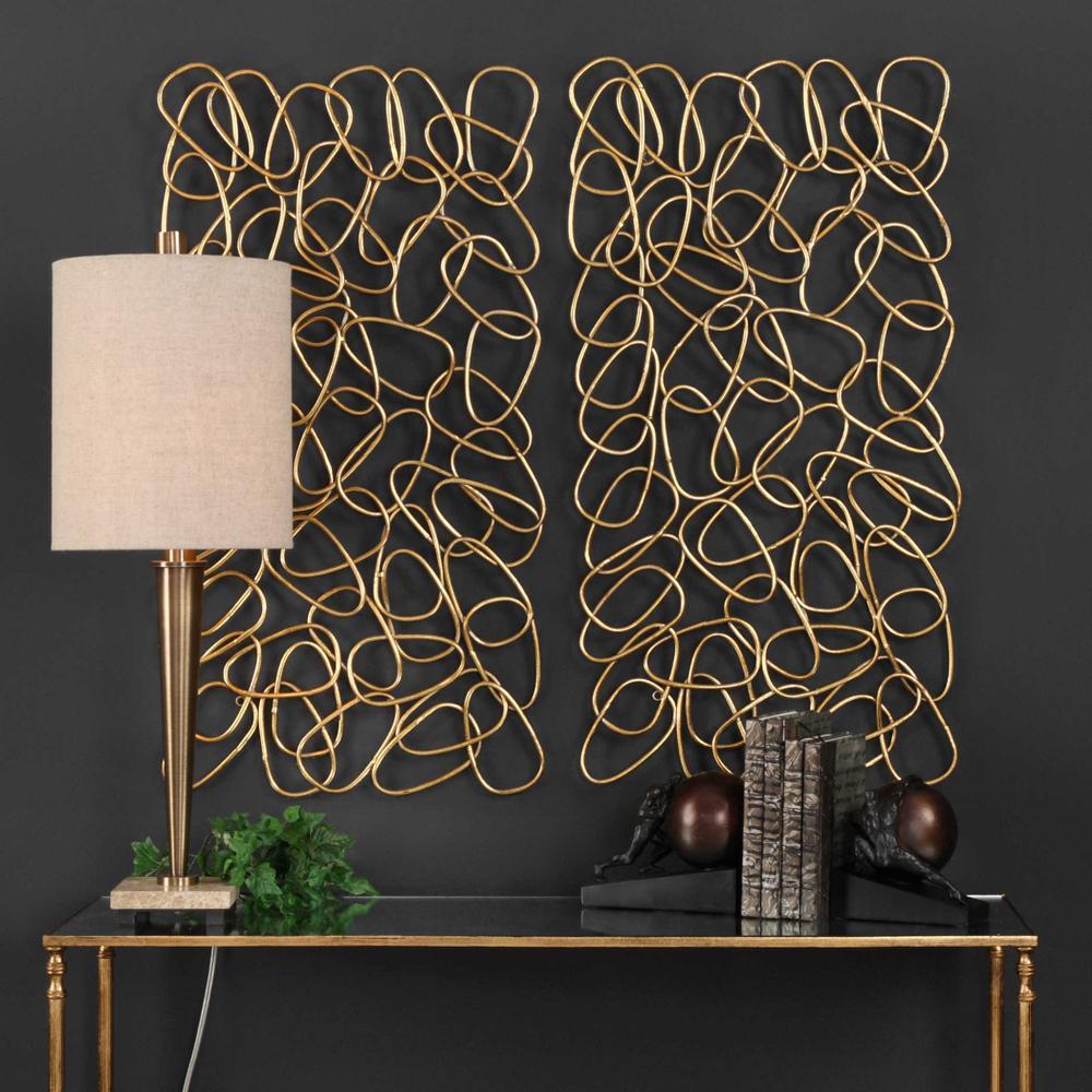 See Details - In the Loop Metal Wall Panels, S/2