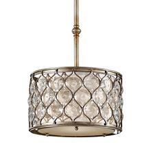 Lucia Small Hanging Shade Burnished Silver
