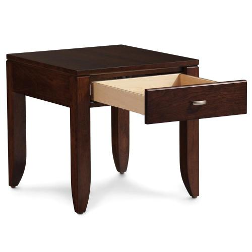 """Simply Amish - Justine End Table, 16""""w x 25 """"d x 24""""h"""