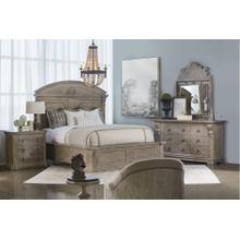 See Details - Arch Salvage Queen Chambers Panel Bedroom Set: Queen Bed, Nightstand, Dresser & Mirror