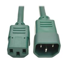 PDU Power Cord, C13 to C14 - 10A, 250V, 18 AWG, 2 ft. (0.61 m), Green