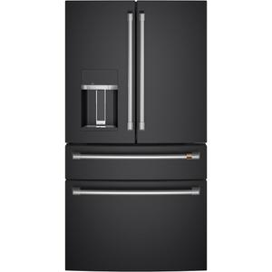 Café ENERGY STAR ® 27.8 Cu. Ft. Smart 4-Door French-Door Refrigerator Product Image