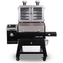 View Product - Lockhart Platinum Pellet/Smoker Combo Grill