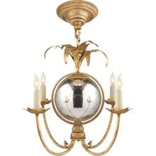 Visual Comfort CHC5370GI E. F. Chapman Gramercy 4 Light 17 inch Gilded Iron Chandelier Ceiling Light
