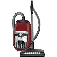 Bagless canister vacuum cleaners with electrobrush for thorough cleaning of heavy-duty carpeting.