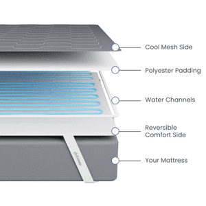 Chili Technology - OOLER Sleep System with Chilipad™ Cool Mesh™ - Cal King \ we