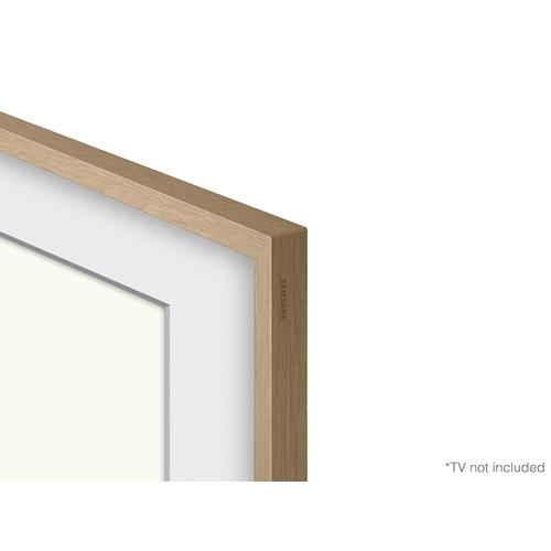 "(2021) 55"" The Frame Customizable Bezel - Modern Teak"