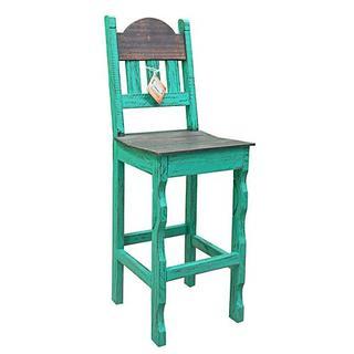 """See Details - Aqua Scrape 30""""stool Wood Seat"""