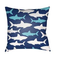 """Sharks LIL-072 18"""" x 18"""""""