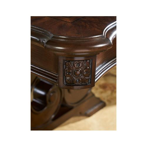 Royale 76-96 inch Table with 20 inch Leaf