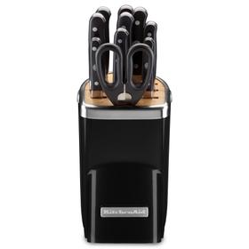 11pc Professional Series Cutlery Set - Onyx Black