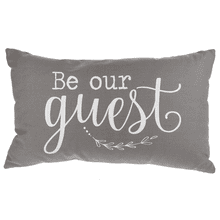 See Details - Be Our Guest Pillow