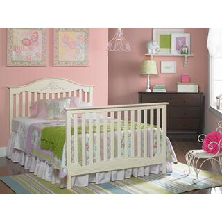 Fisher-Price Mia Convertible Crib, Snow White