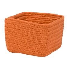 "Braided Craft Baskets Basket BC31 Orange Zest 10"" X 6"""