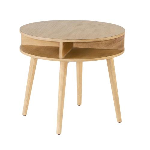 TABLE,ROUND SIDE - ERA - WHEAT