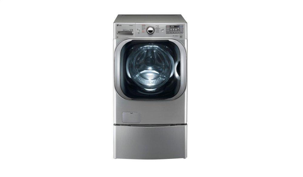 5.2 cu. ft. Mega Capacity TurboWash® Washer with Steam Technology Photo #2