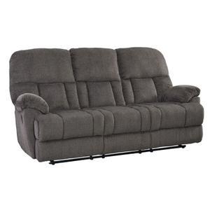 Harmon Manual Motion Reclining Sofa, Grey