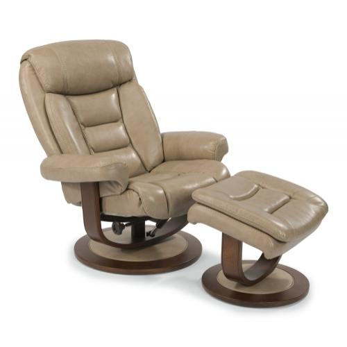 Gallery - Hunter Leather Chair & Ottoman