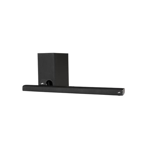 Gallery - Universal TV Sound Bar and Wireless Subwoofer System in Black