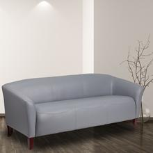 HERCULES Imperial Series Gray LeatherSoft Sofa