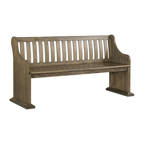 Stone Pew Bench