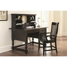 "Bella Desk, Black, 54""x30""x31"""