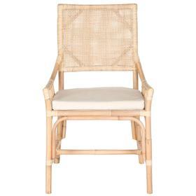 Donatella Rattan Chair - Natural White Wash