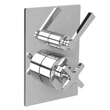 Fleetwood cross handle pressure balance with lever 2-way diverter trim only, to suit M1-4101 rough