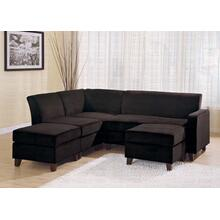 "LOVE SEAT/CHOCOLATE F 48""Wx32""Dx32""H"