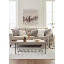 Pinnacle - Rectangular Coffee Table - White Sands Finish