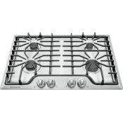 "FRIGIDAIRE 30"" 4BNR GAS COOKTOP NG SS - UNCRATED"