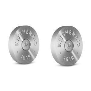 KitchenAidKitchenAid(R) Commercial-Style Range Handle Medallion Kit, Silver - Other