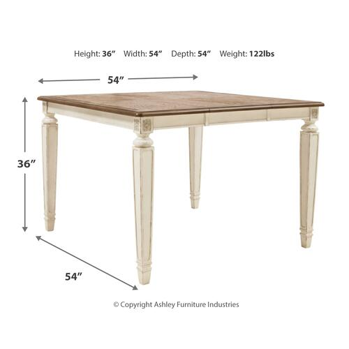 Signature Design By Ashley - Realyn Counter Height Dining Table