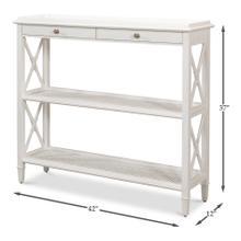 Winston Bookcase, Working White Finish