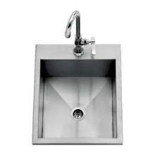 "15"" Drop-in Sink"