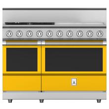 """See Details - 48"""" 4-Burner All Gas Range with 24"""" Griddle - KRG Series - Sol"""