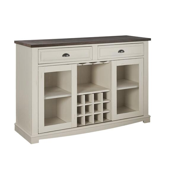 Cayla Server, Dark Oak & White