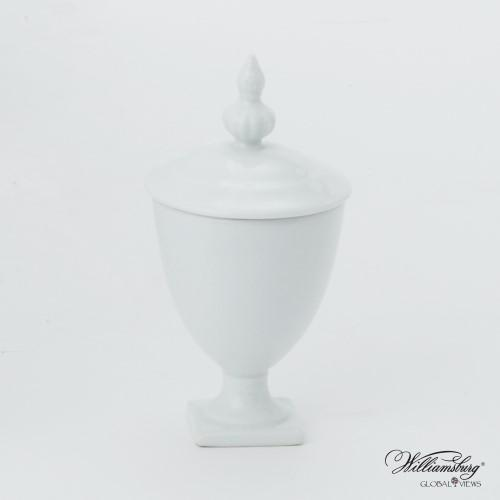 Beaufort Mini Urn-White