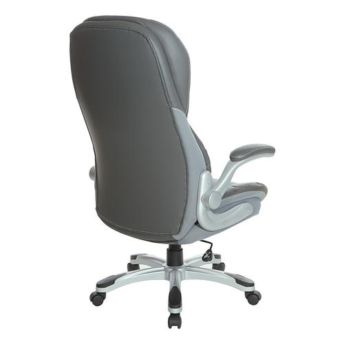 Office Star - Deluxe Bonded Leather Executive Chair