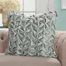 "Life Styles L0064 Light Grey 22"" X 22"" Throw Pillow"